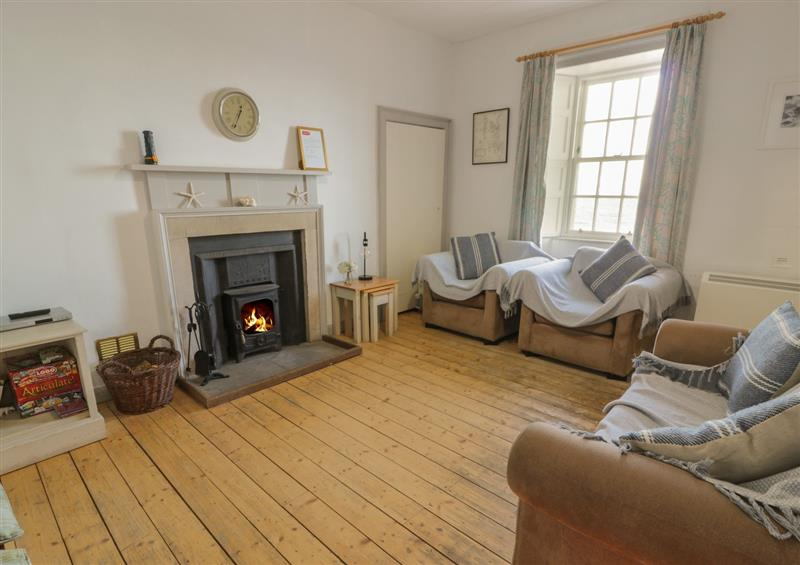 The living room at South Segganwell, Maybole