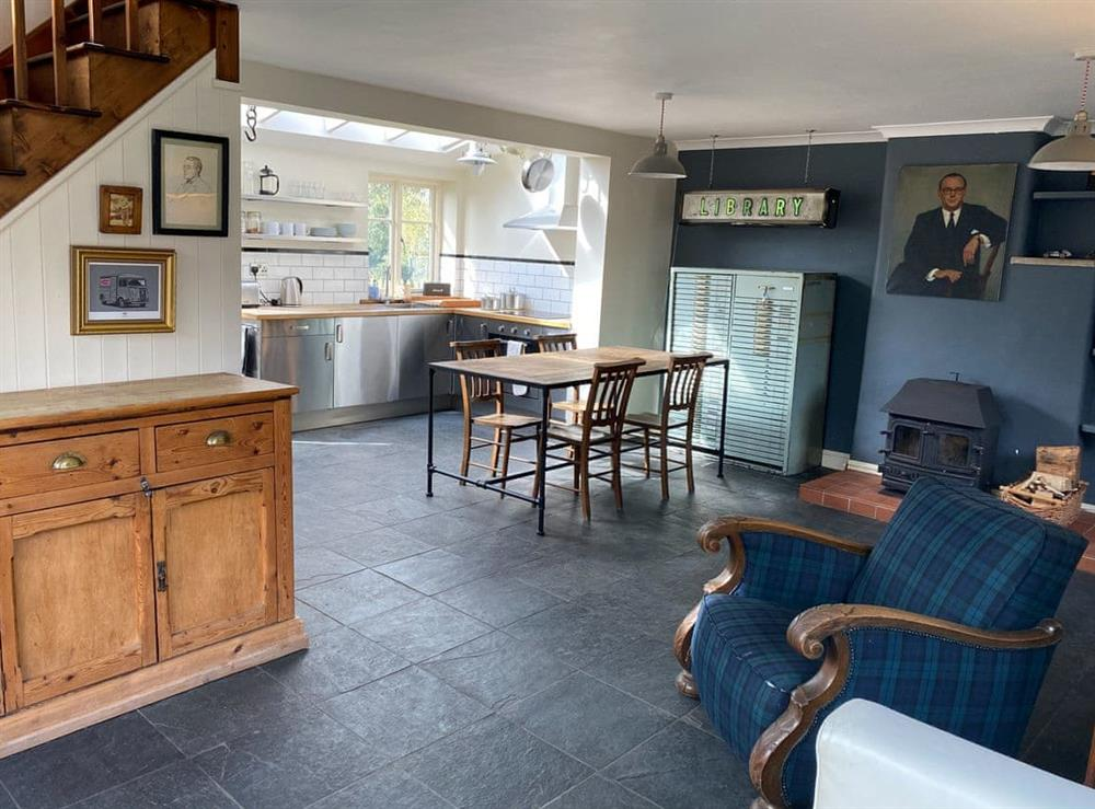 Open plan living space at Southfield Cottage 2 in Braunston, near Daventry, NorthamptonshireNorthamptonshire, England