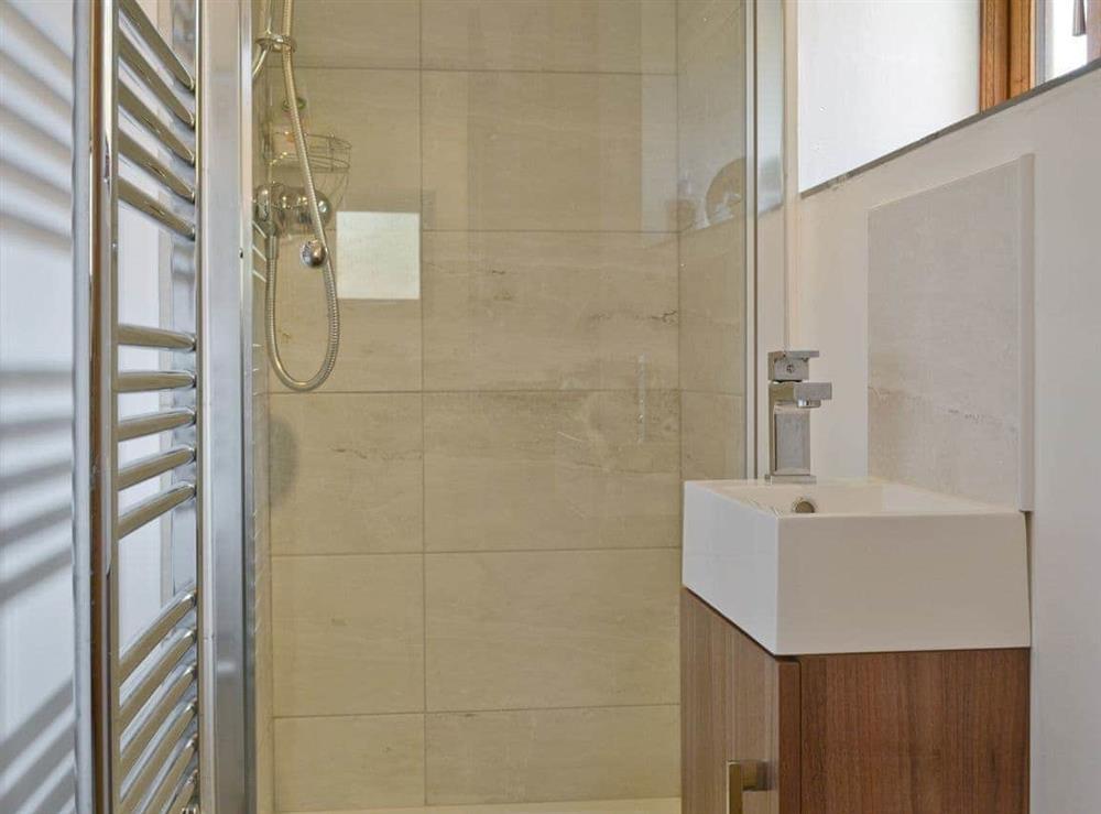 Family shower room at Southlake Barn in Dousland, near Yelverton, Devon