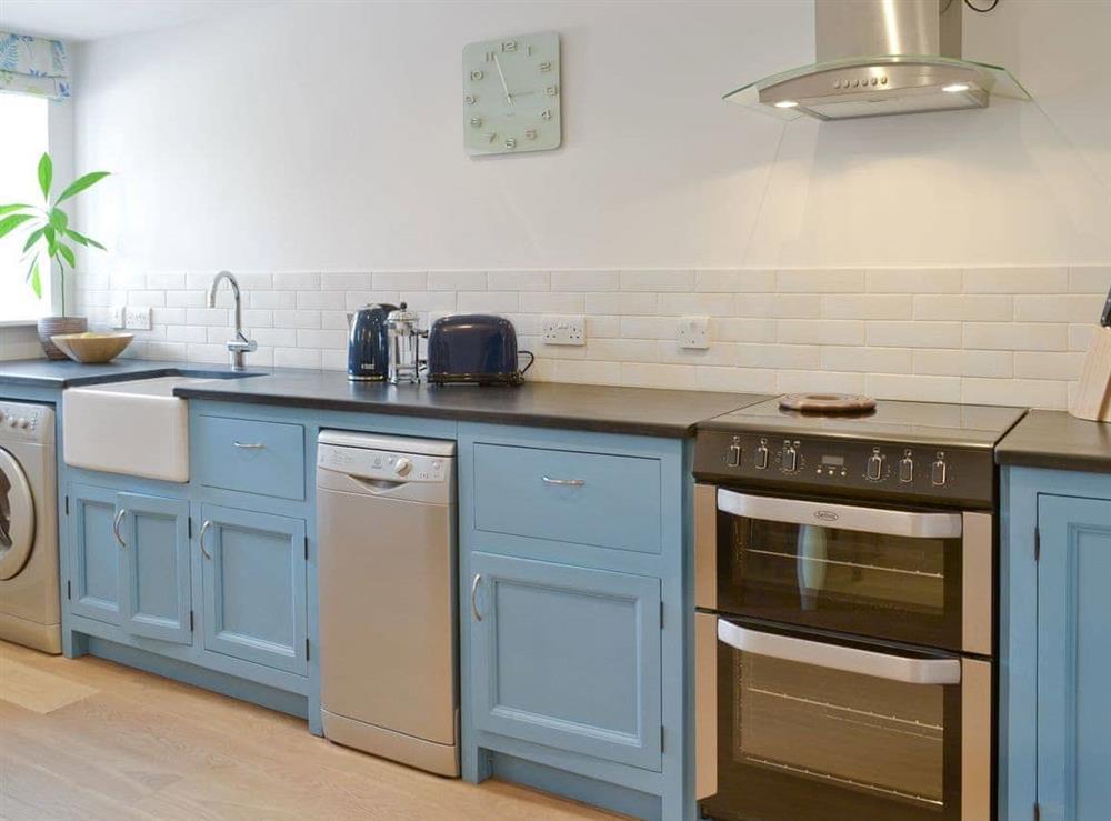 Well-equipped kitchen at Southlake Barn in Dousland, near Yelverton, Devon
