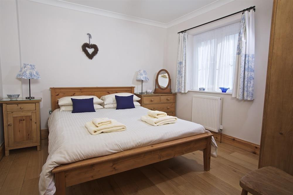 Double room with King size pine bed at Southview in Blackawton, Nr Dartmouth