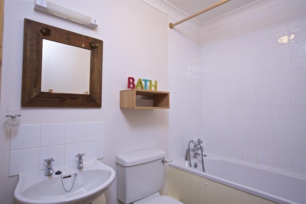 Family bathroom at Southview in Blackawton, Nr Dartmouth