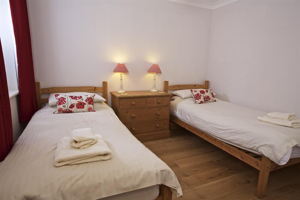 Ground floor twin room at Southview in Blackawton, Nr Dartmouth