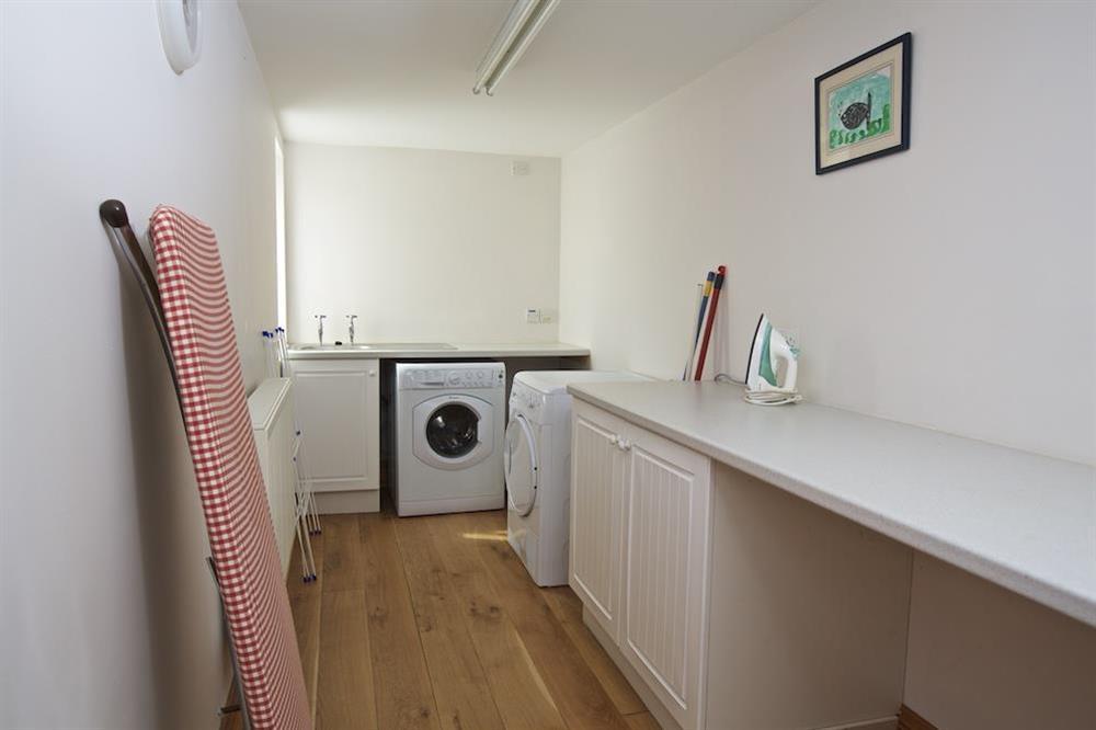 Utility room at Southview in Blackawton, Nr Dartmouth