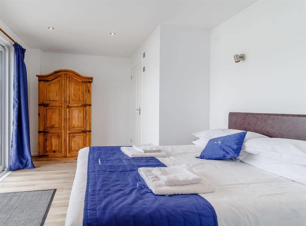 Double bedroom at Spinnaker in Wroxham, Norfolk