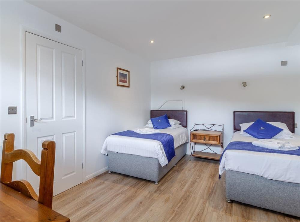 Twin bedroom at Spinnaker in Wroxham, Norfolk