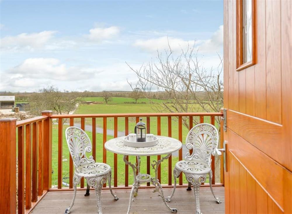 Balcony at Spire View in Near The New Forest, England