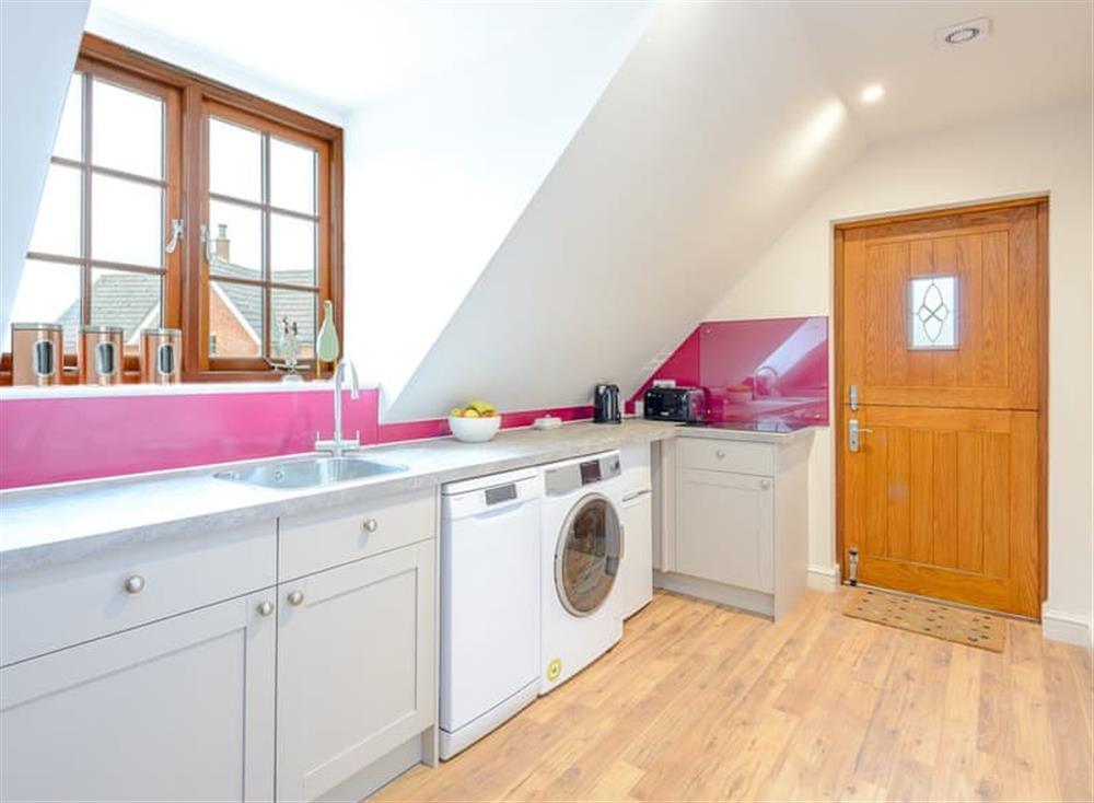 Kitchen at Spire View in Near The New Forest, England