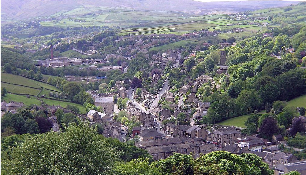 Holmfirth at Spring Wood Cottage in Netherton near Holmfirth