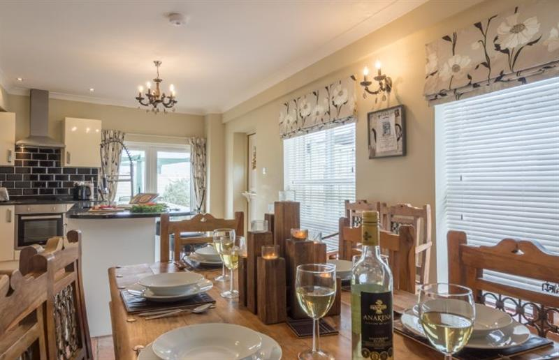 Dining room at Springbank, Wells-next-the-Sea, Norfolk