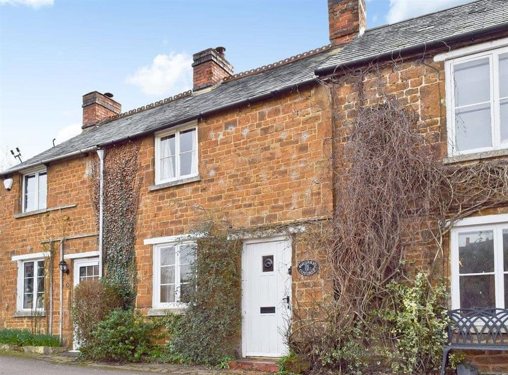 Cottage exterior at Squirrel Cottage in Hook Norton, Nr Chipping Norton, Oxon., Oxfordshire