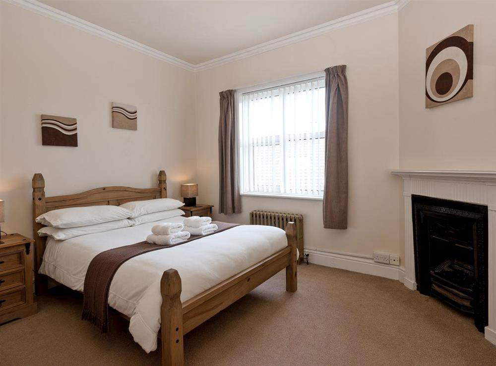 Double bedroom at St. Peters Court in Bacton, Norfolk