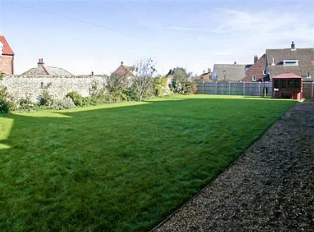 Garden at St. Peters Court in Bacton, Norfolk