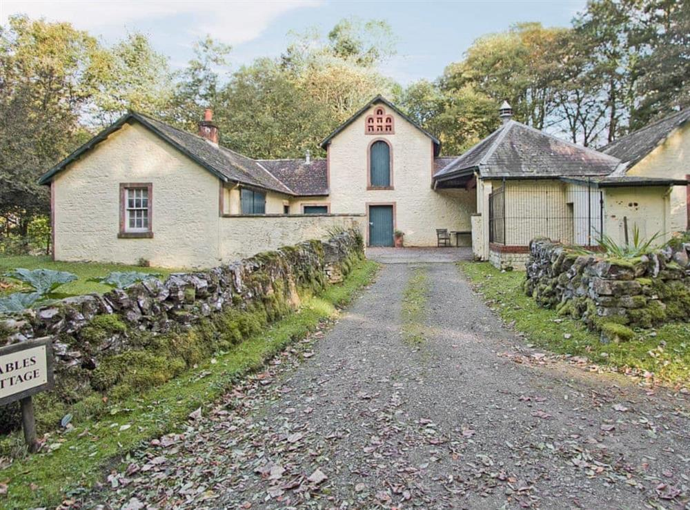 Exterior at Stable Cottage in Crocketford, near Dumfries., Kirkcudbrightshire
