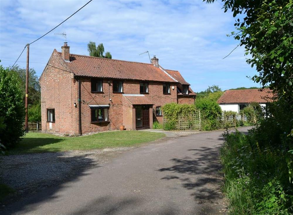 Exterior at Staithe Lodge in Swafield, near North Walsham, Norfolk