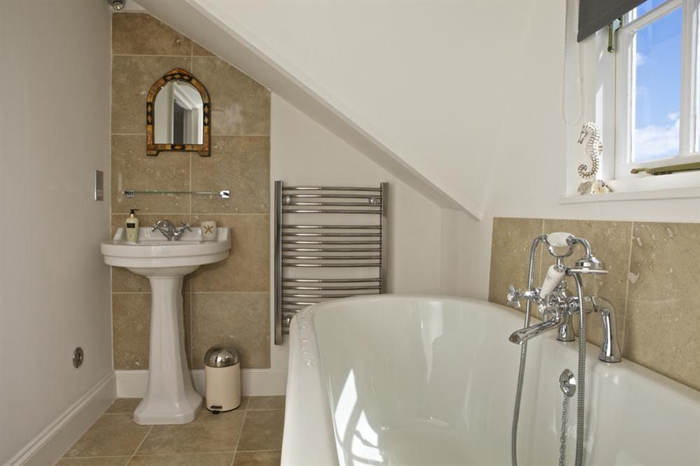 En suite at Starfish Cottage in 40 Crowthers Hill, Dartmouth