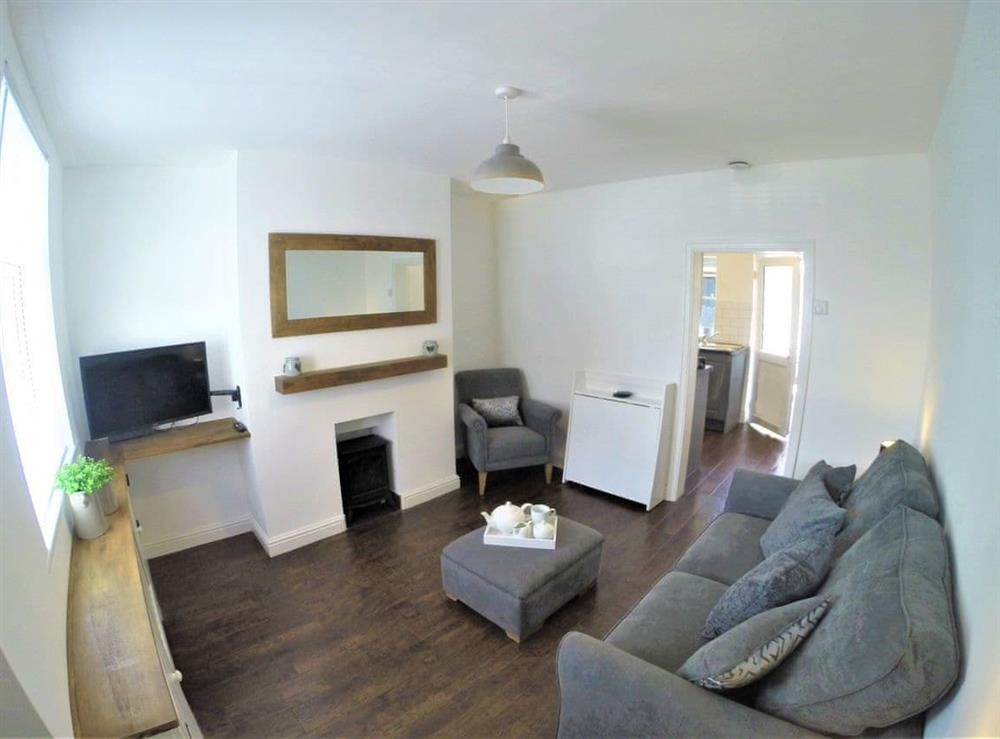 Living room/dining room at Station Cottages in Neston, Merseyside