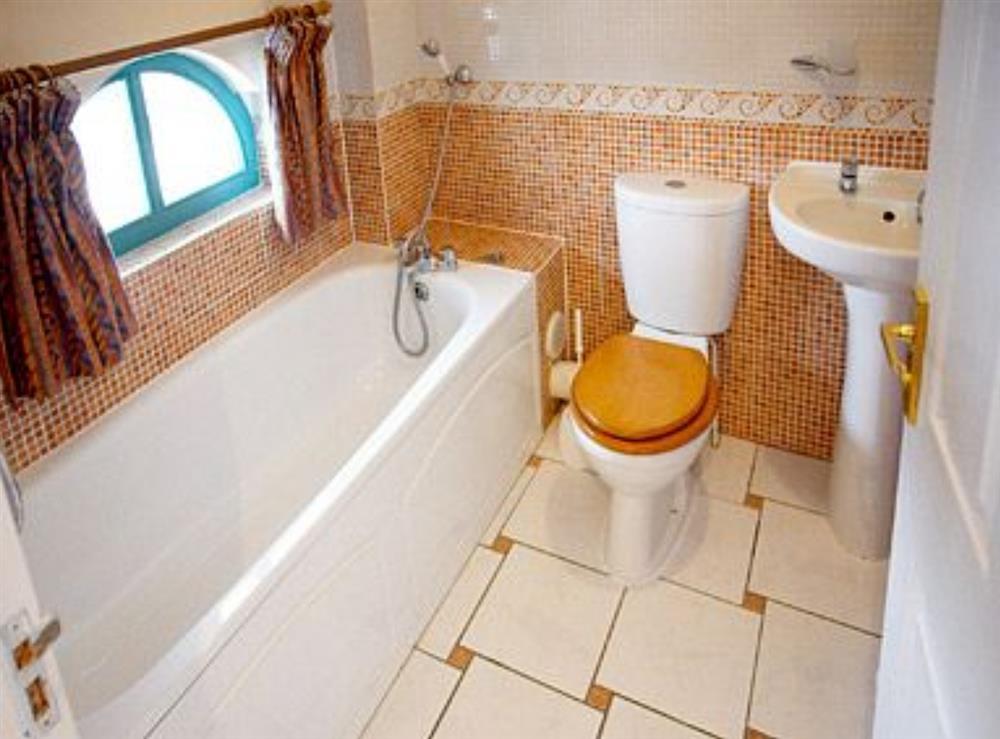 Bathroom at Stay Sail in Wroxham, Norfolk