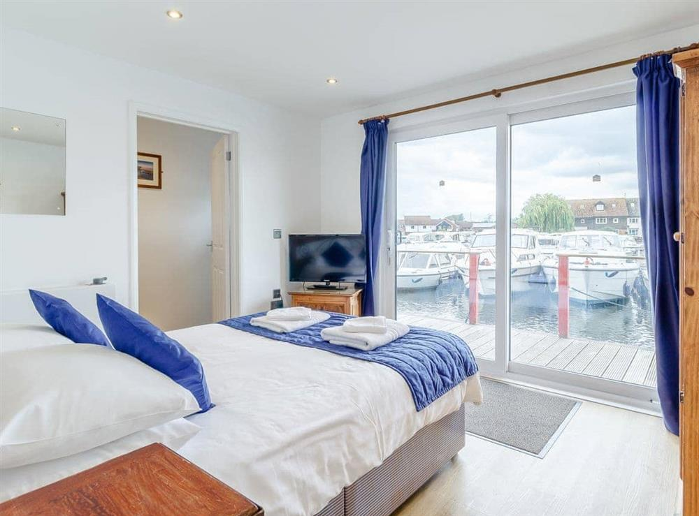 Double bedroom at Stay Sail in Wroxham, Norfolk