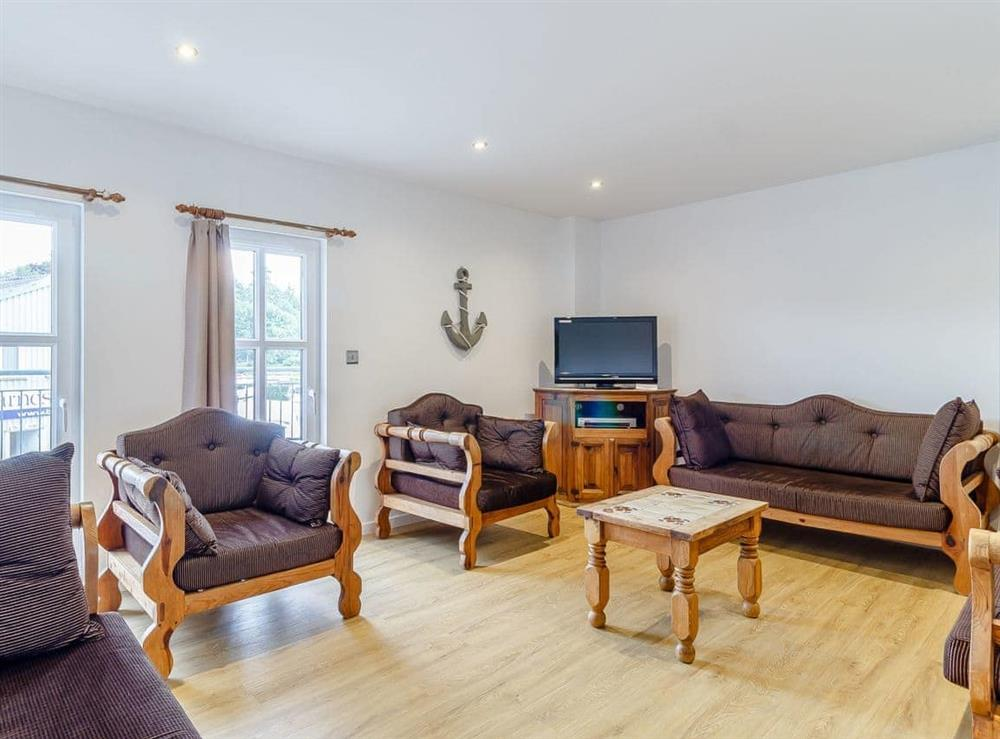 Living room at Stay Sail in Wroxham, Norfolk