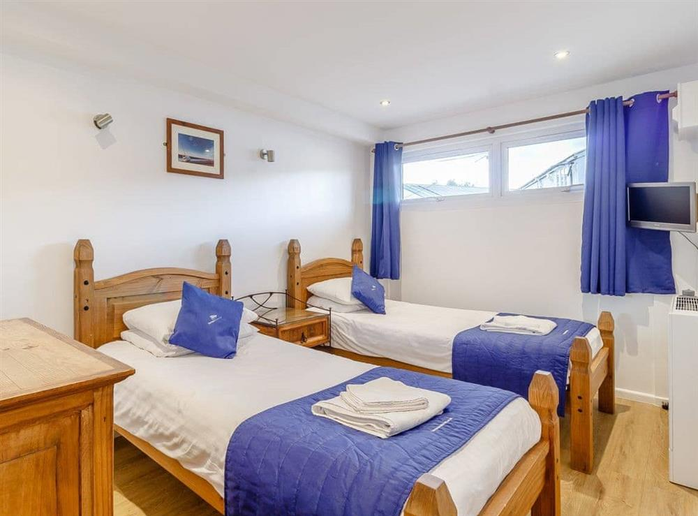 Twin bedroom at Stay Sail in Wroxham, Norfolk