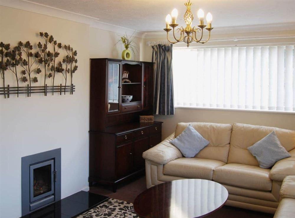 Living room at Stileaway in Potter Heigham, near Great Yarmouth, Norfolk