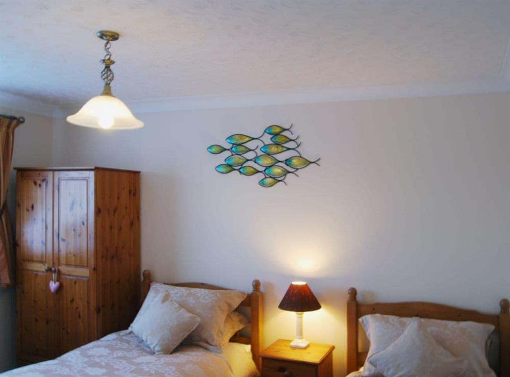 Twin bedroom at Stileaway in Potter Heigham, near Great Yarmouth, Norfolk