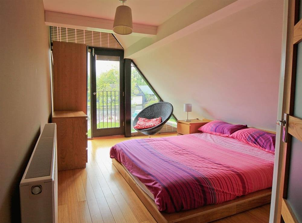 Double bedroom at Still Waters in Hoveton, Norwich, Norfolk., Great Britain