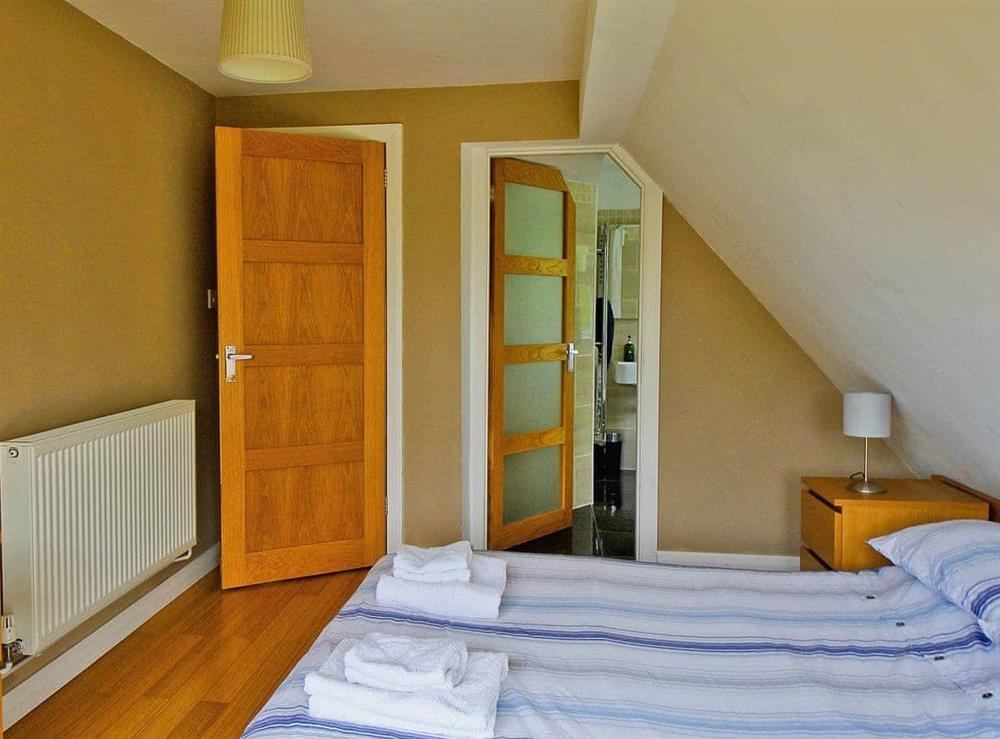 Twin bedroom at Still Waters in Hoveton, Norwich, Norfolk., Great Britain