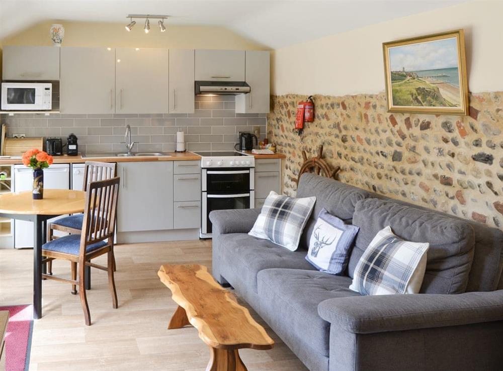 Stylish living areas at Courtyard Barn,