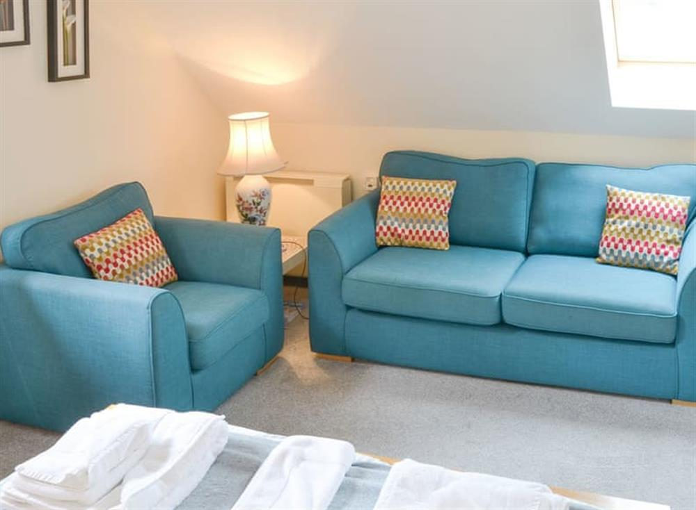 Comfortable seating area at Oak View Lodge,