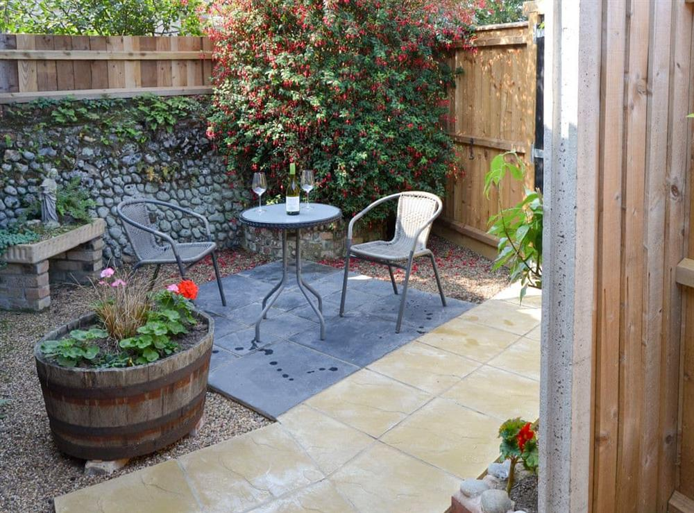 Attractive courtyard area at The Old Stables,