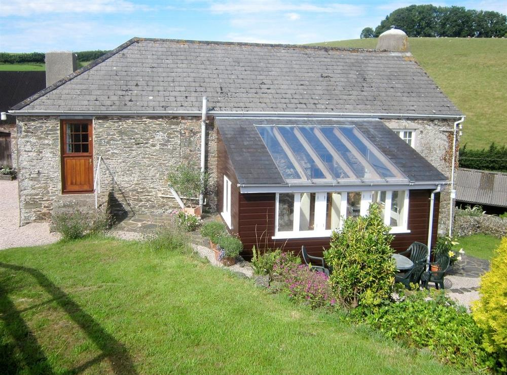 Exterior at Stonehills Farmhouse in Washbourne, Nr Totnes, South Devon., Great Britain