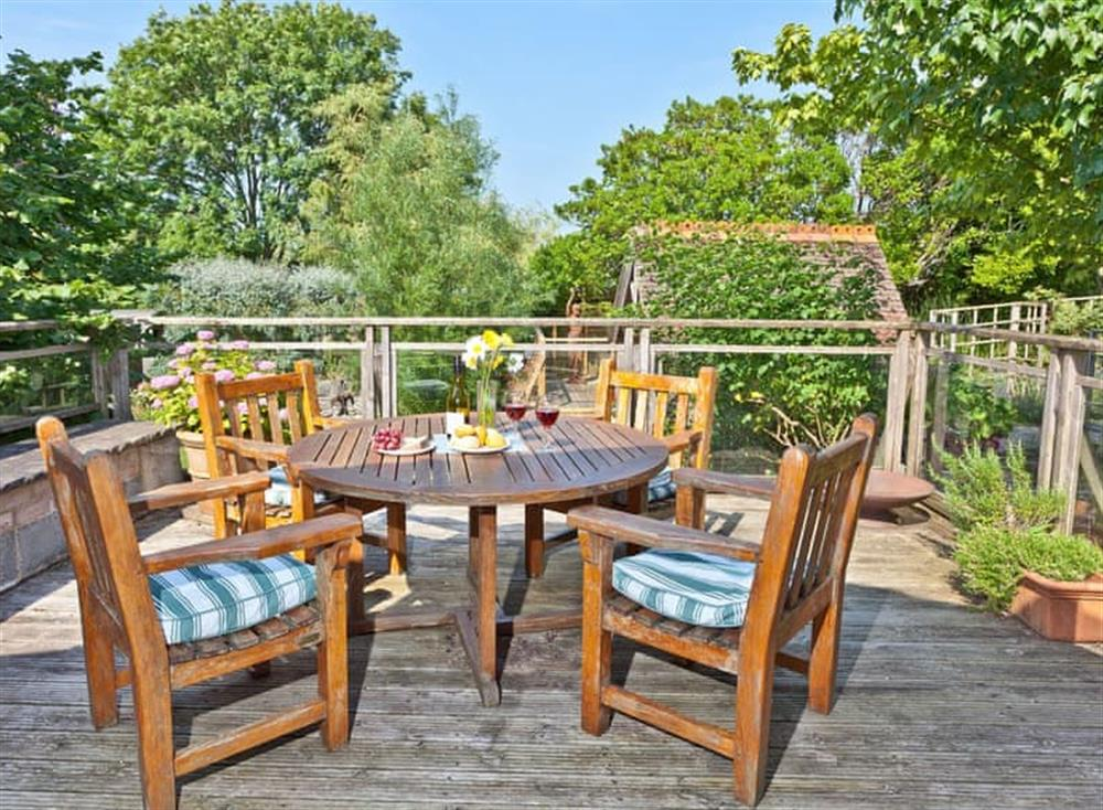 Terrace at Stonewater Barn in , Brixham