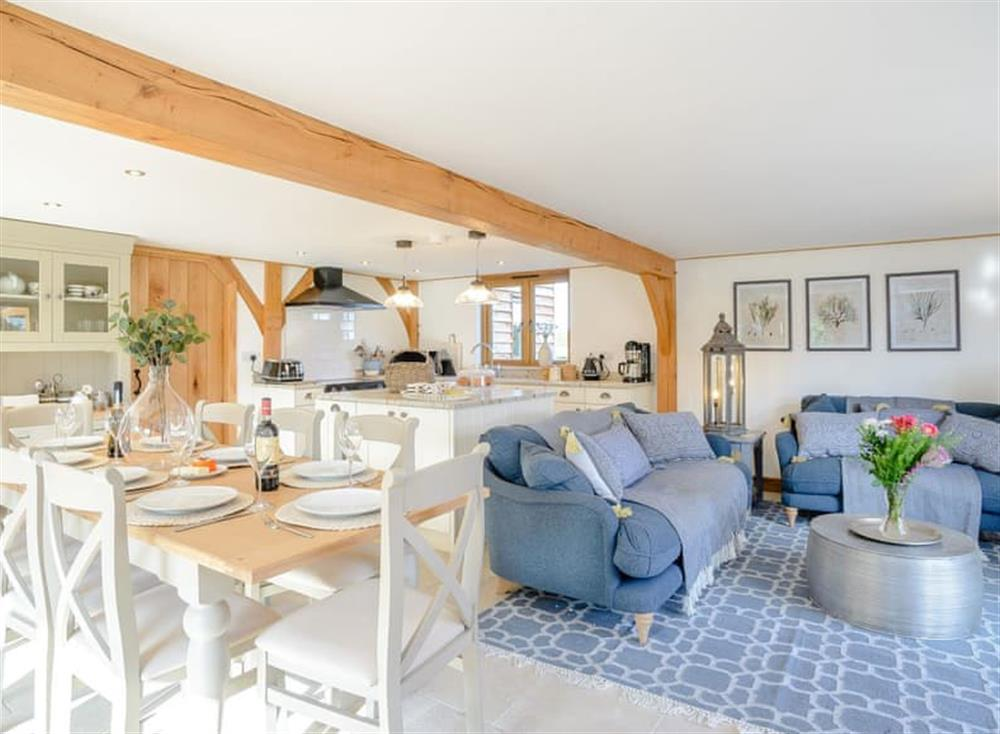 Characterful open-plan living space