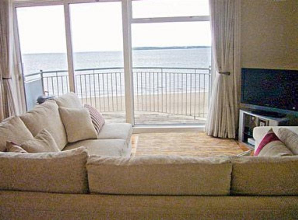 Living room at Strand Court in Duncannon, Co. Wexford, County Wexford