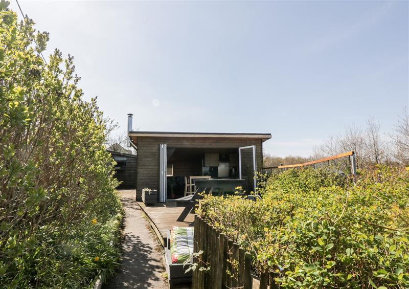 In the area at Studio Cabin, Glenboig near Coatbridge