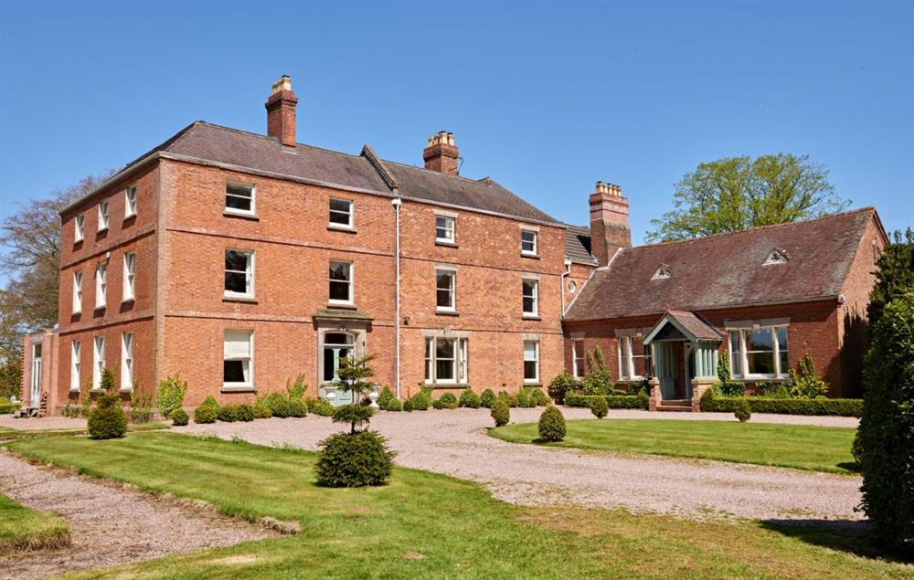Sugnall Hall is set in the heart of a 1,300 acre estate in Staffordshire and within its own extensive grounds