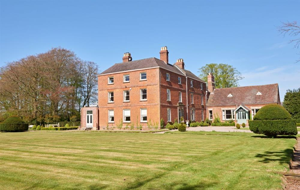 Sugnall Hall set within the unspoilt Staffordshire countryside