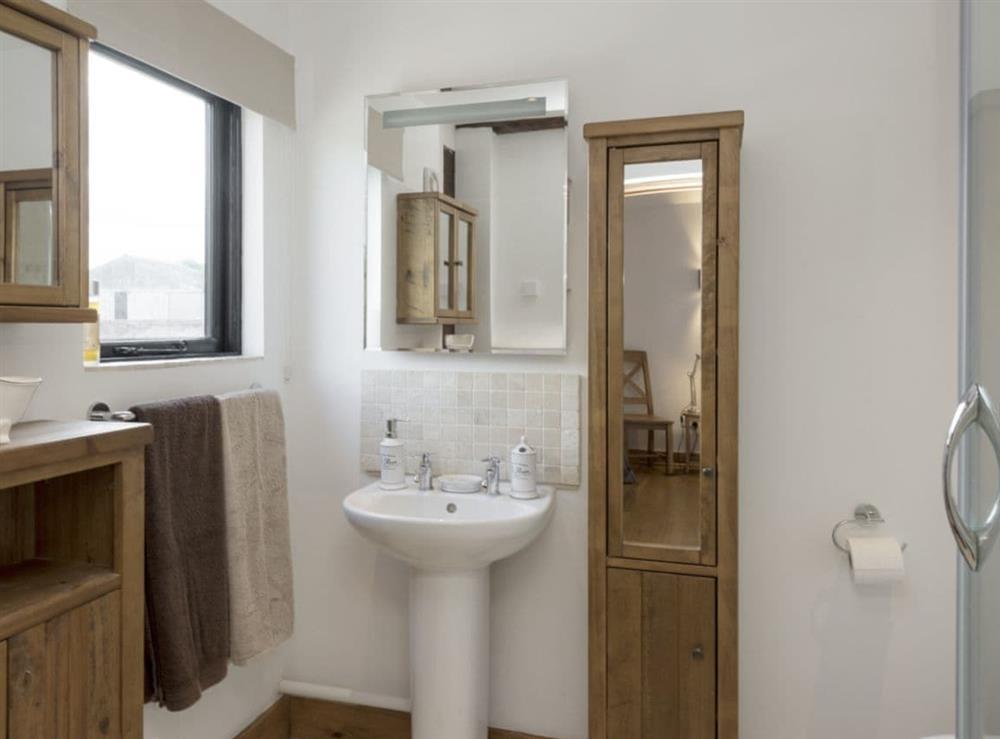 En-suite shower room at Summer House Stables in Catfield, near Stalham, Norfolk