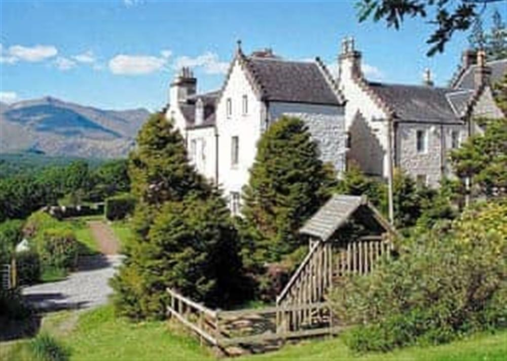 Exterior at Summer Wing in South Lochaweside, Argyll