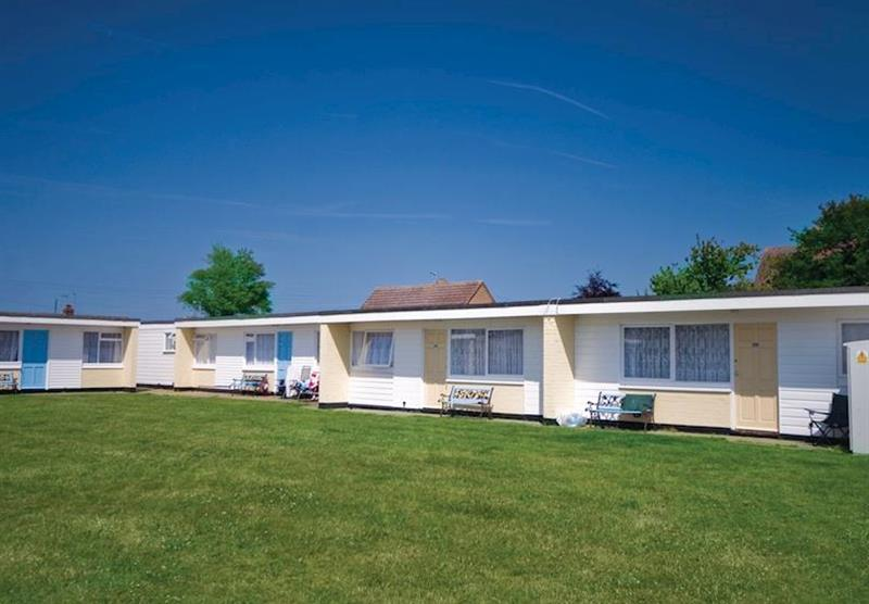 The park setting at Summerfields Holiday Park in Scratby, Great Yarmouth