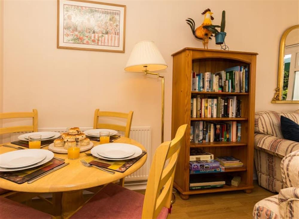 Dining Area at Sundeck in Brixham, South Devon