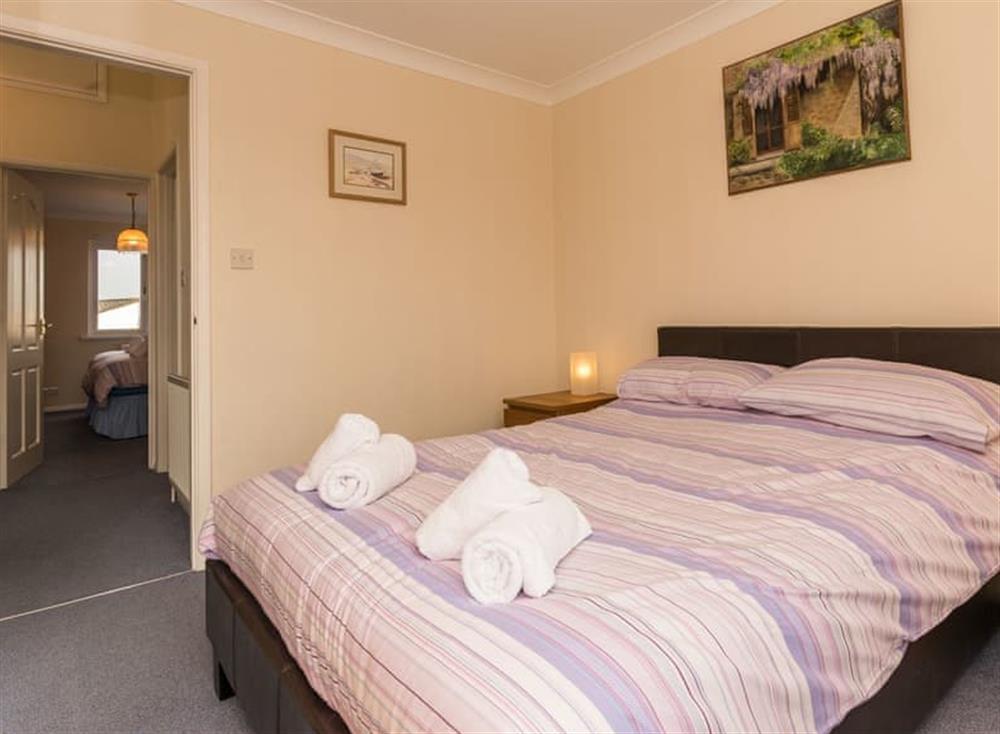 Double bedroom at Sundeck in Brixham, South Devon