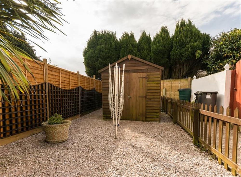Garden at Sundeck in Brixham, South Devon