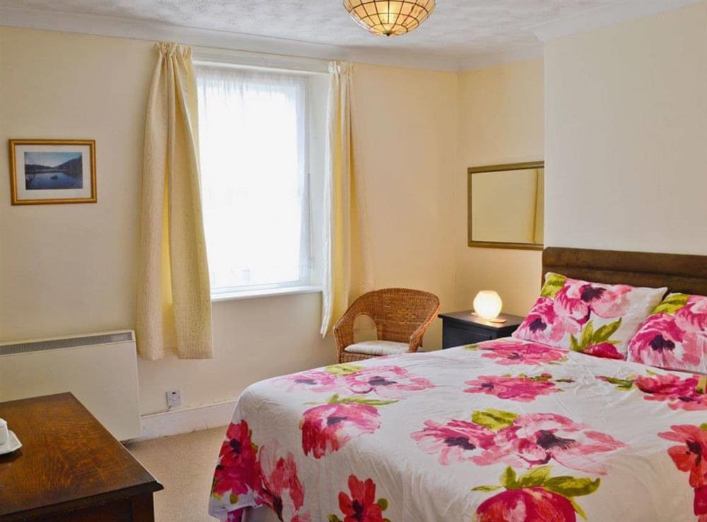 Double bedroom at Sundowners in Calstock, Cornwall