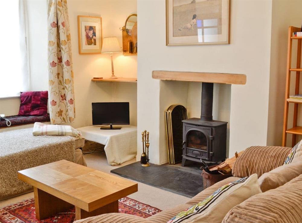 Living room at Sundowners in Calstock, Cornwall