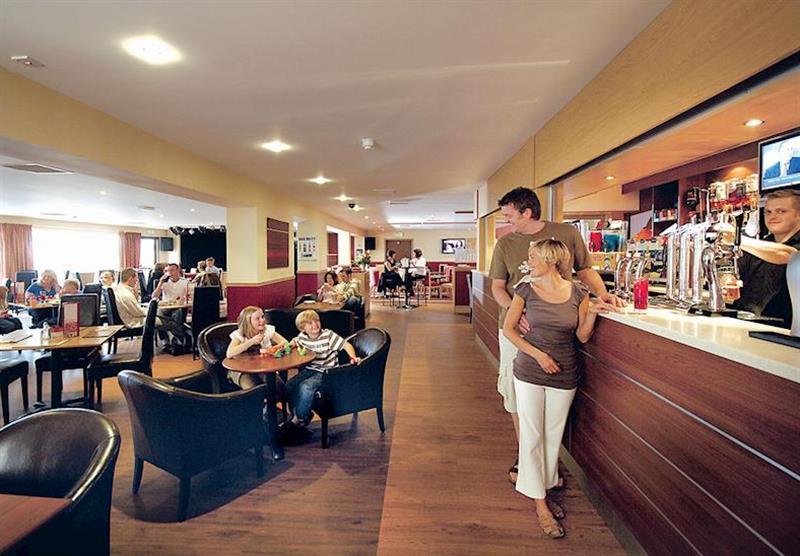Tam O'Shanter lounge restaurant/bar at Sundrum Castle in Ayr, South West Scotland