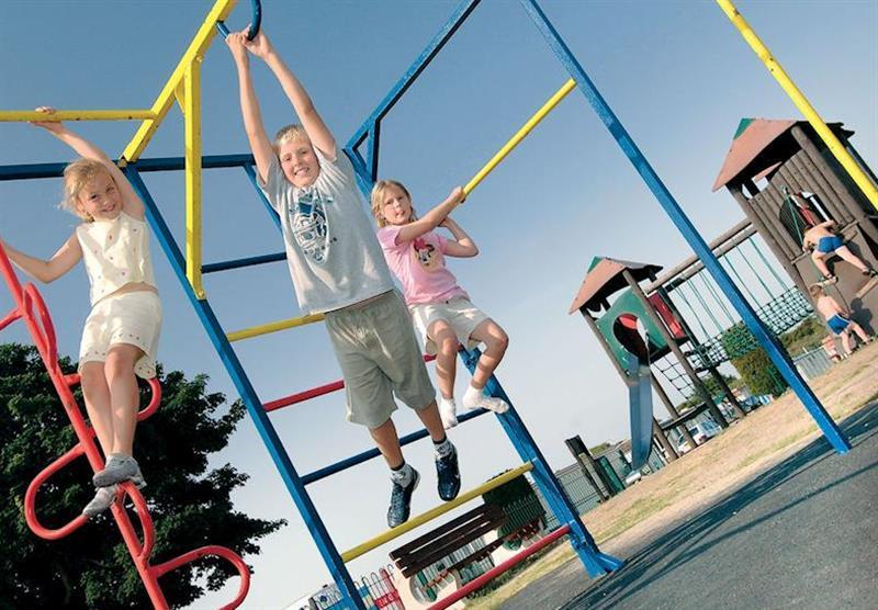 Adventure playground at Sunnydale in Saltfleet, Lincolnshire