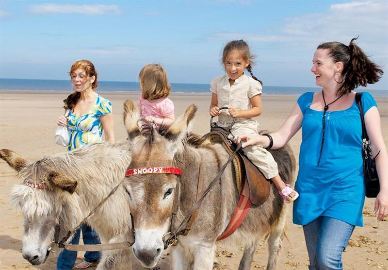 Mablethorpe beach at Sunnydale in Saltfleet, Lincolnshire